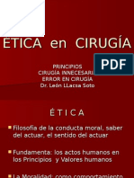 Ética en Cirugía (2)