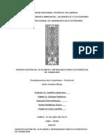 Identificación de La Planta e Infraestructura Ecoturística de Huancaya