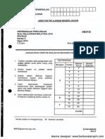 Kertas 2 Pep Percubaan SPM Johor 2010_soalan