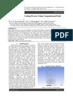 Simulation of Stir Casting Process Using Computational Fluid Dynamics
