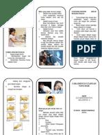 Leaflet Cuci Tangan a4