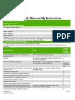 HP 2509m Flat Panel Monitor desarmado