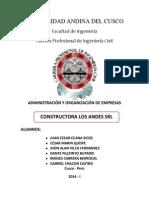 Empresa Constructora Los Andes Srl