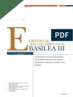 El Ratio de Apalancamiento de Basilea III