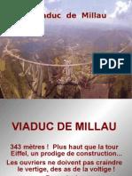 Barcelona-Paris New Highway Millau Viaduct