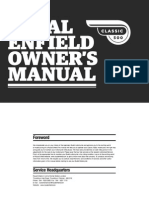 Classic 500 Owners Manual - Feb 2012