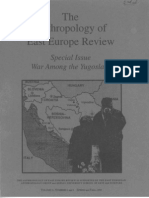 The Anthropology of East Europe Review