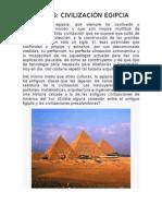 Misterios Egipto