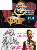 Local Government in the Philippines1