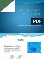 Clasificación y Propiedades Fluídos