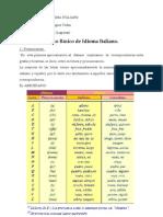 contenido curso básico italiano