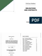 OBLICON Perez Civil Law Outlines