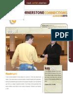 3rd Quarter 2015 Lesson 9 Cornerstone Connections