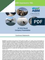 ABMM Company Presentation 2014-Q2