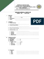 Resume Medical Check Up