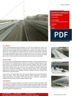 Dammam Under Pass Rehabilitation Case Study