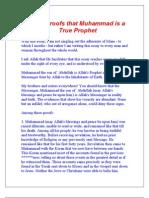 Twelve Proofs that Muhammad is a True Prophet