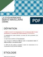 La Dysharmonie Dento-maxillaire (DDM) Le Norcy