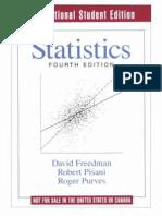 Statistics%2C 4th Edition by David Freedman%2C Robert Pisani