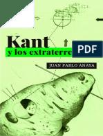 Kant y los extraterrestres