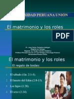 El Matrimonio y Los Roles