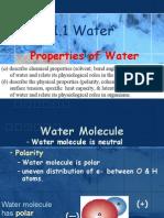 Bio1TC1 1.1 Water