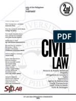 UP Bar Reviewer 2013 Civil Law