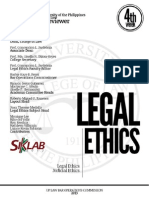 UP Bar Reviewer 2013 Legal and Judicial Ethics