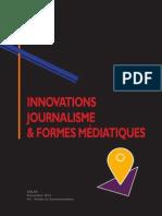 CELSA Innovation, journalisme et nouvelles formes médiatiques