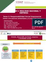 Resp. Soc.empresarial Frente a Pasivos Ambientales y La Inclusión Social