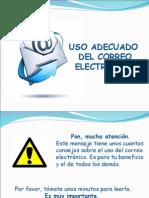 Uso Adecuado Correo Electrónico para primaria