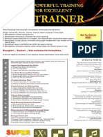 Powerful Training for Excellent Trainer - Batch 7