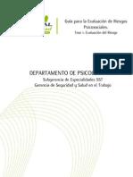 Guia Para La Evaluacion de Riesgos Psicosociales 2015