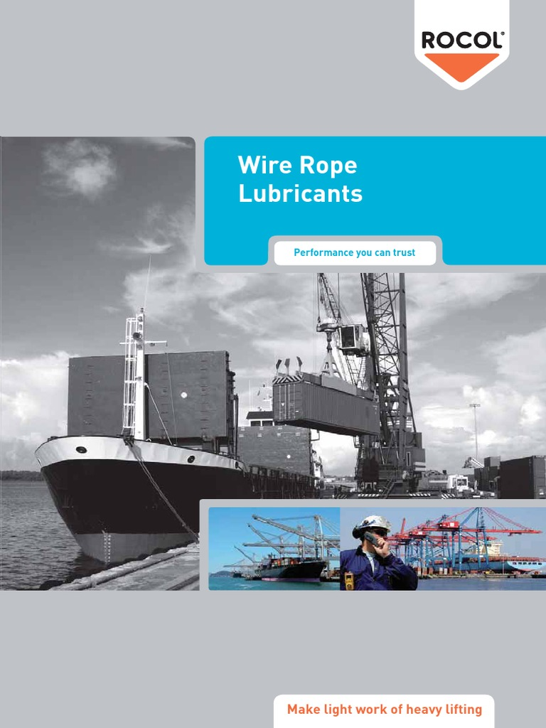 Wire Rope Lubricants | Lubricant | Wire