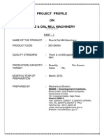 Projprof_Rice & Dal Mill Machinery