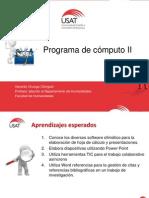 Programas de Cómputo2-USAT