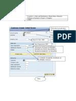 Customer Master -ABAP