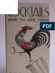 Cocktails How to Mix Them by Robert Vermeire 1922
