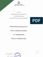 20141015 Istruzioni Integrative