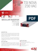 CET Power - NOVA 230Vac Datasheet - V1.0