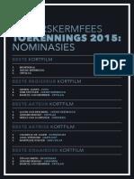 Silwerskermfees 2015 Nominasies