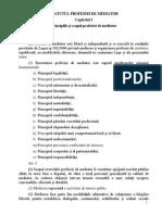 Statutul Profesiei de Mediator Stagiu 24 Iuni 2