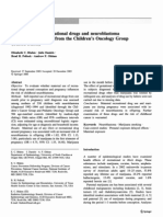 Bluhm, Elizabeth Et Al_Maternal Use of Recreational Drugs and Neuroblastoma in Offspring - A Report From the Children's Oncology Group (United States)