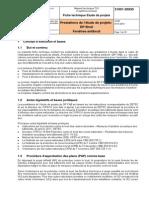 21 001-20930 Prestations de l'Étude de Projets DP Bruit Fenêtres Antibruit_2014 V2.00