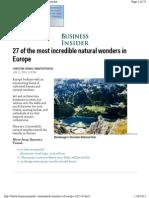 Businessinsider Com Natural Wonders of Europe 2015 6
