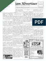 Arkham Investigator - Caso 1 - Arkham Advertiser 30th June 1929
