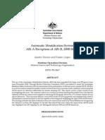 Australian Report About AIS