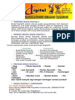 Kerjasama Bisnis Kedai Digital