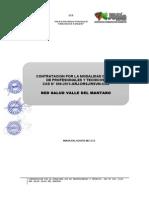 Modelo de convocatoria CAS
