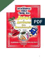 Jogos e Atividades de Alfabetizacao Vol i 56 Atividades